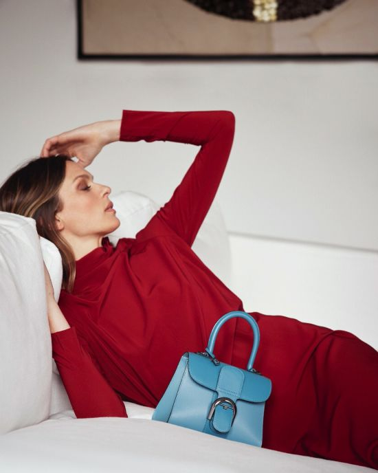 Elise Crombez for Delvaux by Serge Leblon