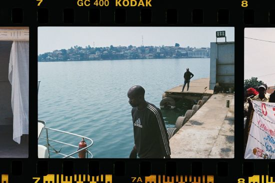 Jef Boes AT LAKE KIVU - Democratic Republic CongO
