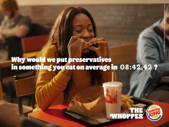 Jef Boes for Burger King